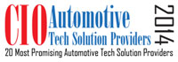 20 Most Promising Automotive Tech Solution Providers - 2014