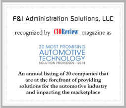 F&I Administration Solutions, LLC
